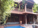 Wooden villa for rent in Thao Dien
