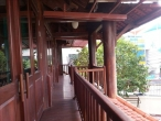 Wooden villa for rent in Thao Dien: